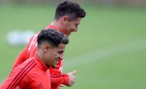 Coutinho realiza primer entrenamiento con Bayern Múnich