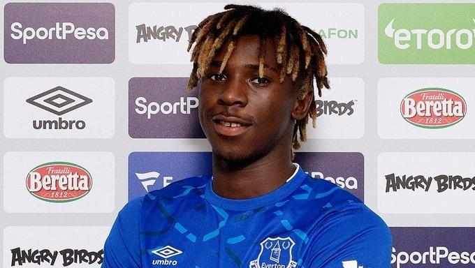 Moise Kean, nuevo delantero de Everton