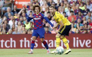 Barcelona retiene el trofeo Joan Gamper frente al Arsenal
