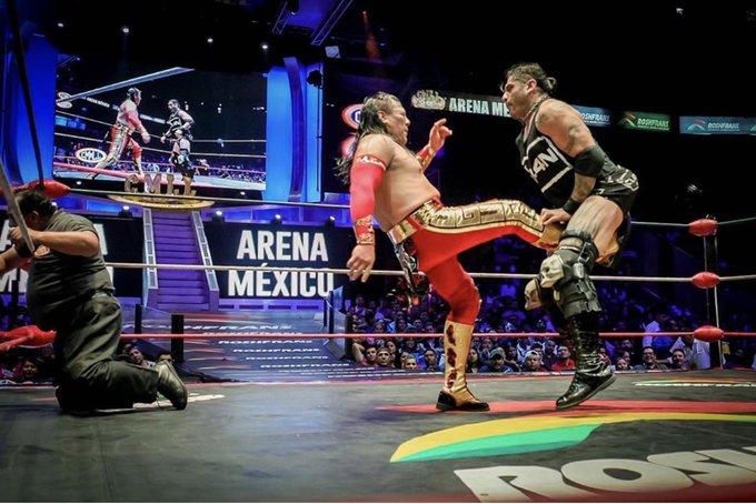 Último Guerrero y Ciber volverán a verse en Arena México