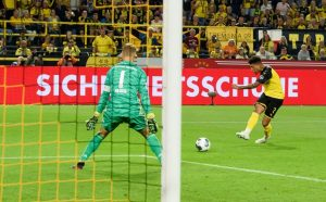 El golazo de Sancho que le dio la Supercopa alemana al Borussia Dortmund