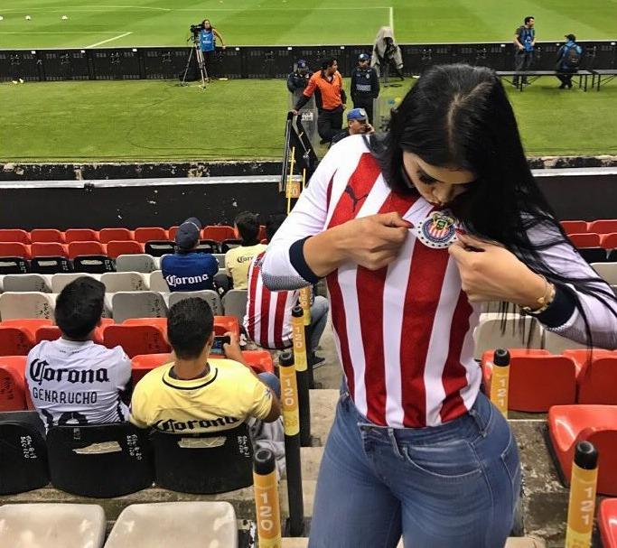 Paola Salcedo, la hermana del jugador de Tigres que tiene loco al arquero del Puebla