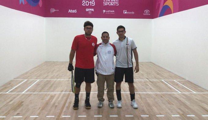 México asegura oro en raquetbol varonil de JP con final Montoya-Beltrán