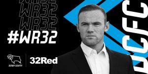 Wayne Rooney será jugador y técnico del Derby County