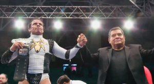 Volador Jr vence a Dragon Lee y defiende título welter