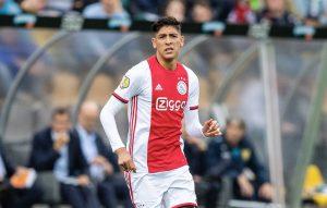 Edson Álvarez debutó con el Ajax en la victoria 4-1 sobre el Venlo
