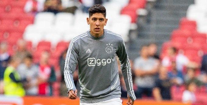 Edson Álvarez sale a la banca en el primer partido del Ajax