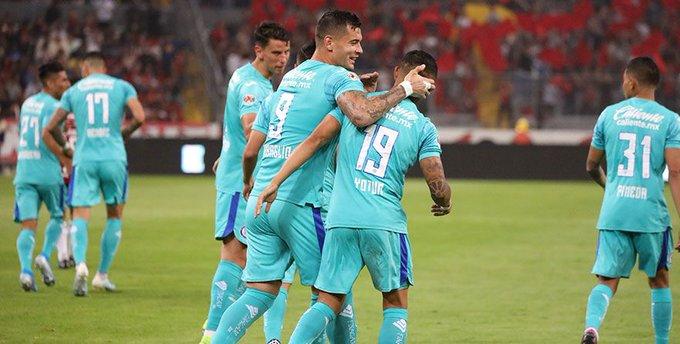 Cruz Azul se impone 3-1 al Atlas y suma su segunda victoria consecutiva