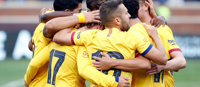 Con este once saldrá el Barcelona al primer partido de La Liga