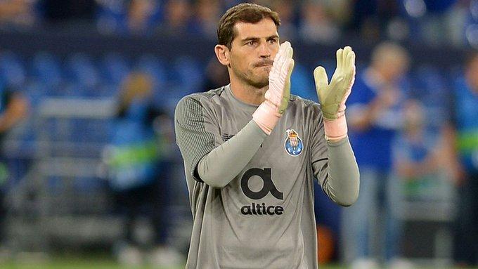 Porto registró a Iker Casillas como jugador para la liga