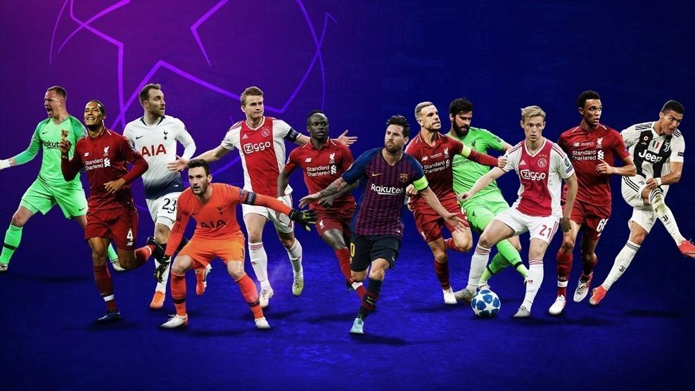 La UEFA define las ternas para los premios de la Champions League 18/19