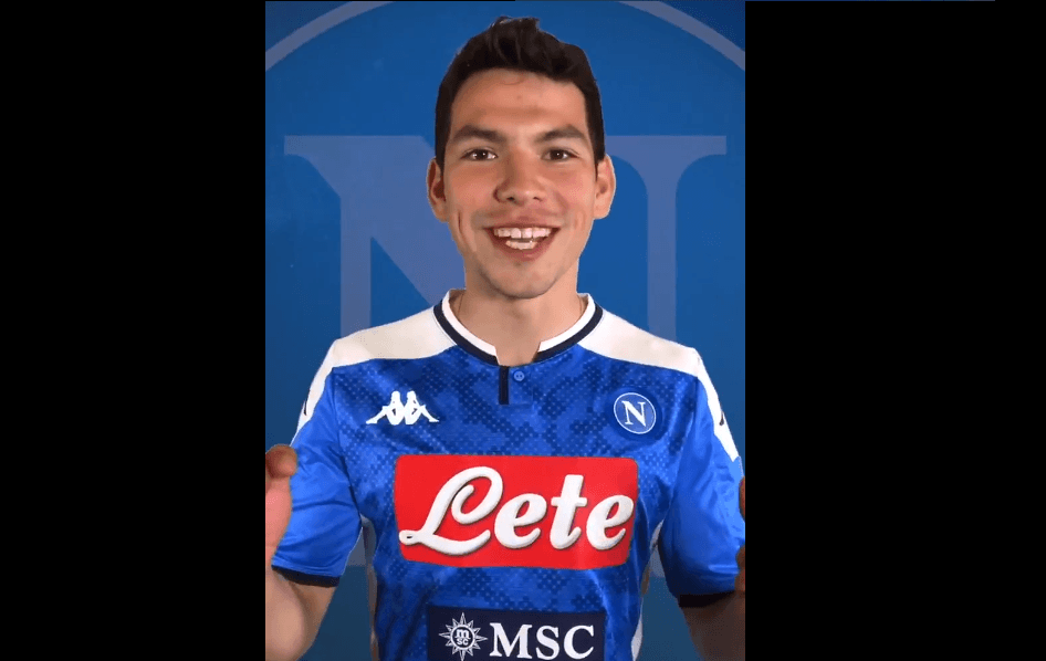 Napoli confirma fichaje de Hirving Lozano