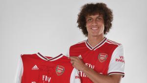 Arsenal hace oficial la llegada de David Luiz