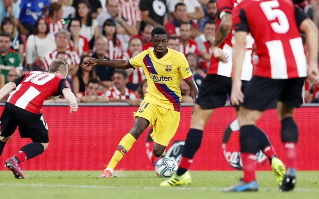 Sexta lesión de Dembélé; se ha perdido la mitad de los juegos del Barcelona