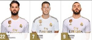 Eden Hazard hereda el 7 de Ronaldo en el Real Madrid