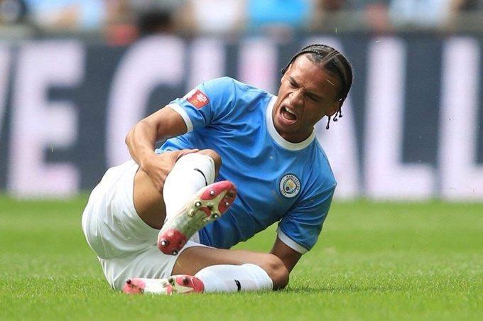 Confirman lesión de Leroy Sané, estará fuera hasta febrero del 2020