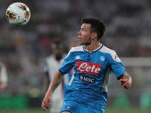 Chucky Lozano debuta con gol en la derrota del Napoli con la Juventus