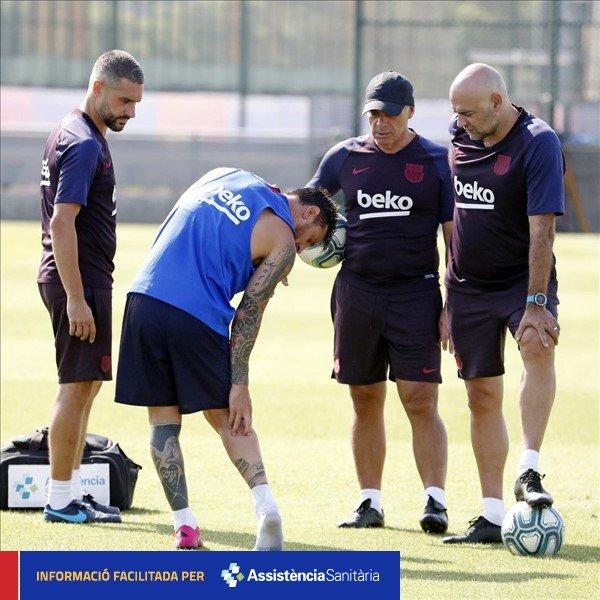 El misterio detrás de la lesión de Messi