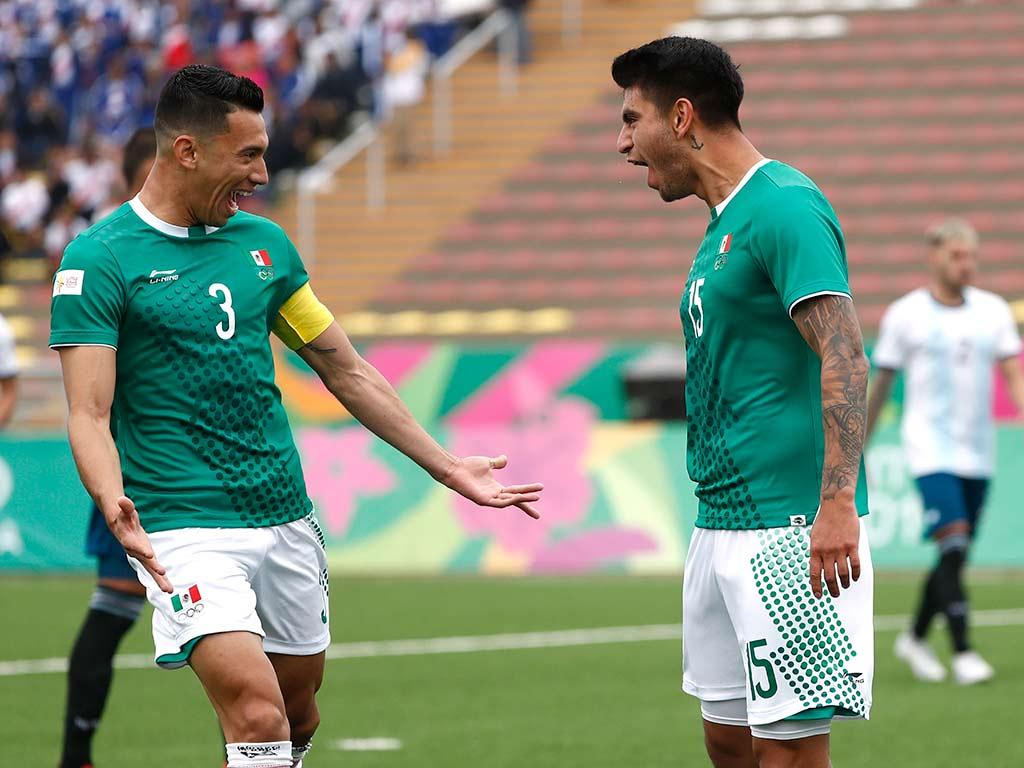 México vence 2-1 a Argentina y se acerca a semifinales en Lima 2019