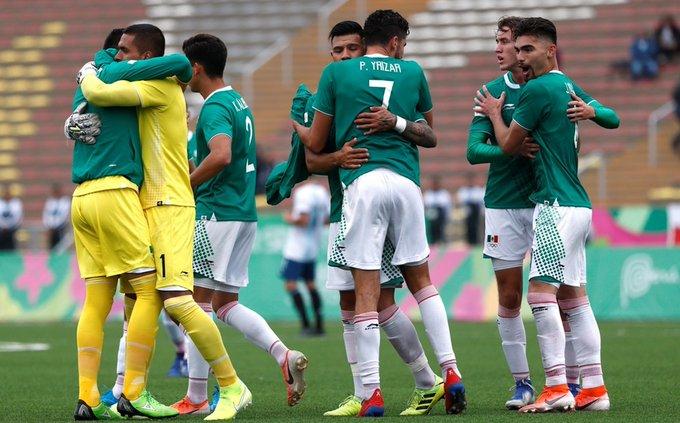 México irá por el bronce en el futbol de Lima 2019 contra Uruguay