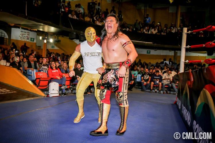 Místico, Último Guerrero, CMLL,