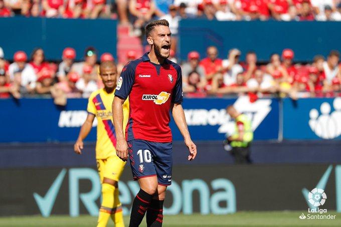 Osasuna hace la heroica y empata 2-2 con el Barcelona