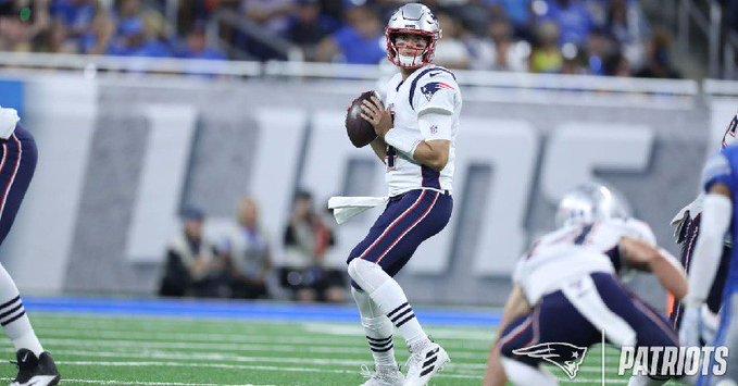 Patriotas comienza con buen paso la pretemporada de la NFL