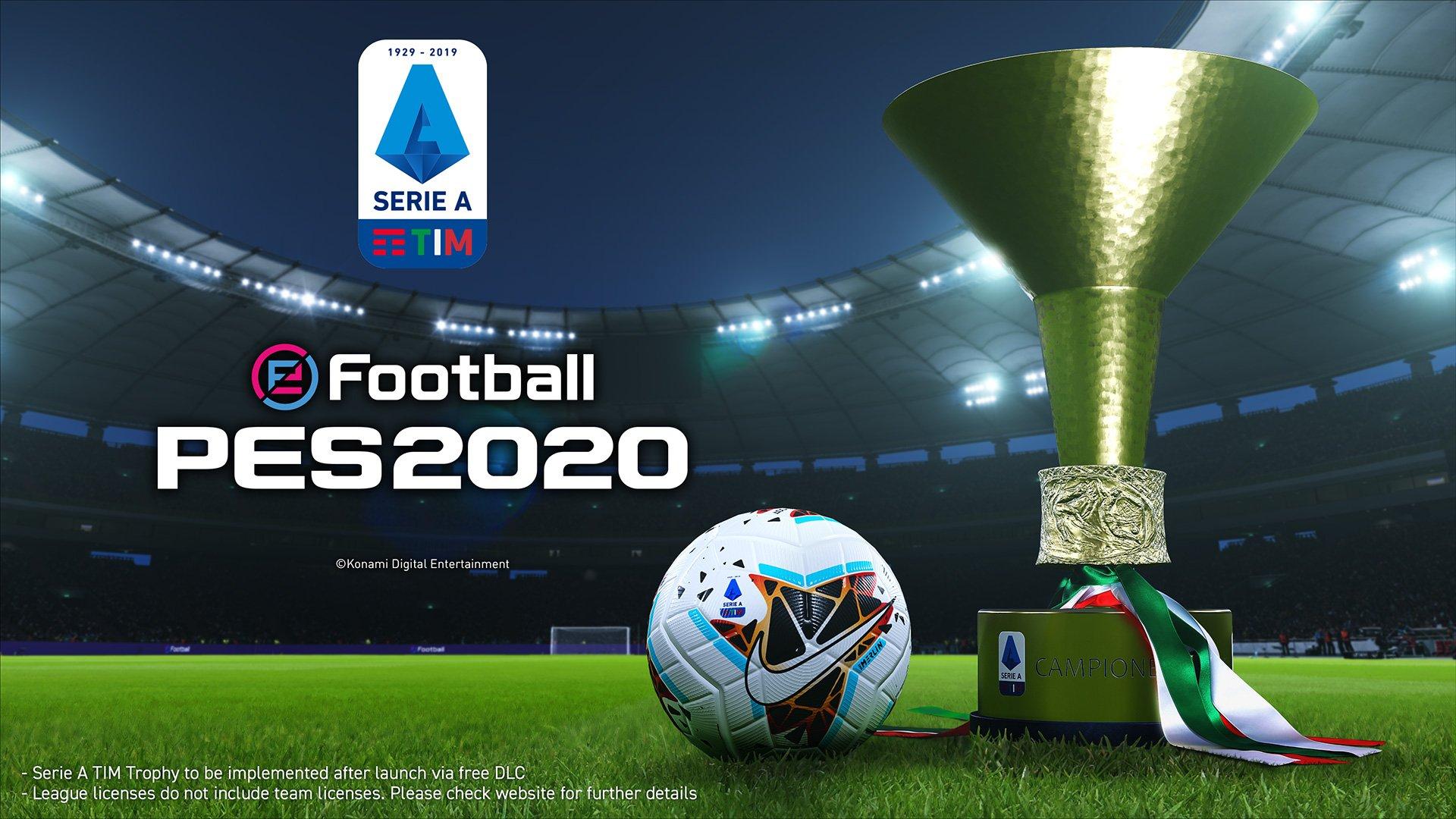 PES confirma licencia completa de la Serie A