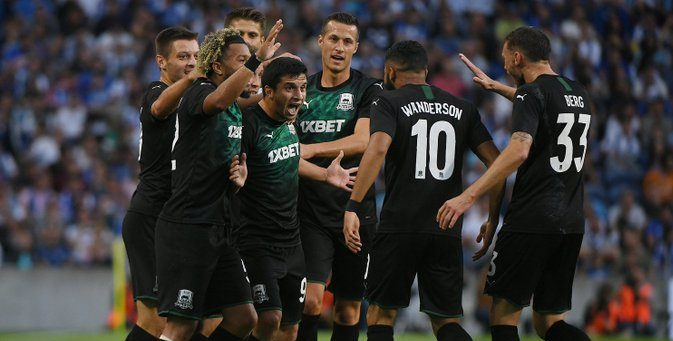 Porto se queda sin Champions League en el debut de Mateus Uribe