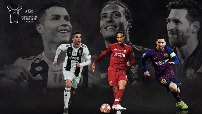 Lista la terna para el mejor jugador de la UEFA