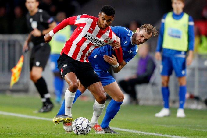 PSV empata con Haugesund en la Europa League sin Lozano