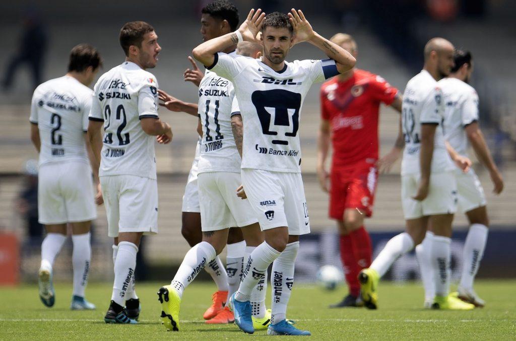 Pumas regresa al triunfo frente a un indefenso Veracruz