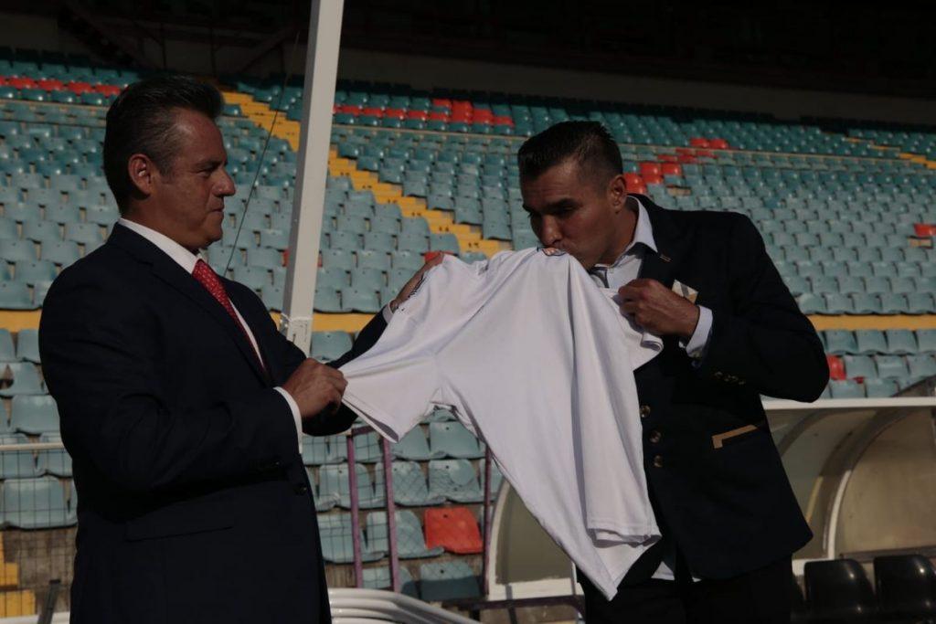 Marco Antonio Rodríguez es cesado del Salamanca después de tres días