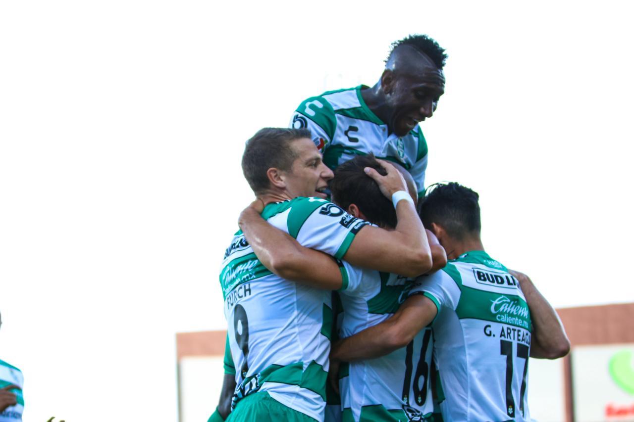 Santos Laguna sigue como líder invicto al finalizar la Jornada 4 del Apertura 2019