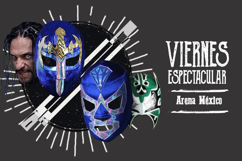 Esta es la cartelera del Viernes Espectacular en la Arena México