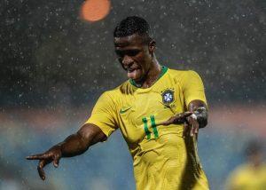 Vinicius Jr. podría debutar con la selección mayor de Brasil