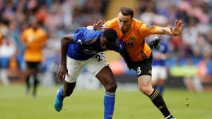 Wolverhampton y Leicester empatan 0-0 con Raúl Jiménez de titular