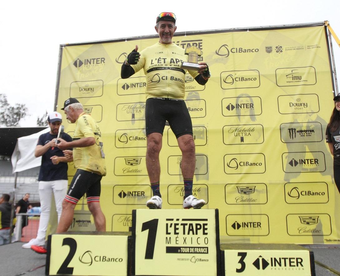 Hidalguense Francisco Lara se lleva L'Etape México By Tour de Francia