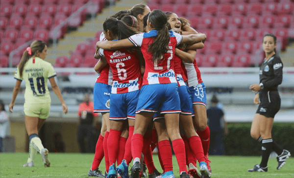 Guadalajara gana el clásico nacional 4-2 al América en Liga MX Femenil