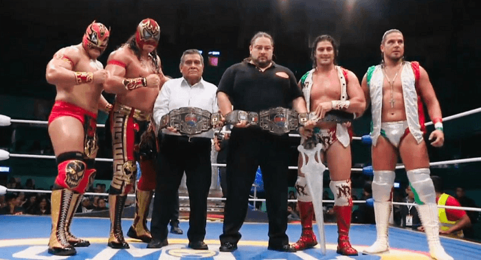 Gran Guerrero y Euforia defienden título de parejas del CMLL
