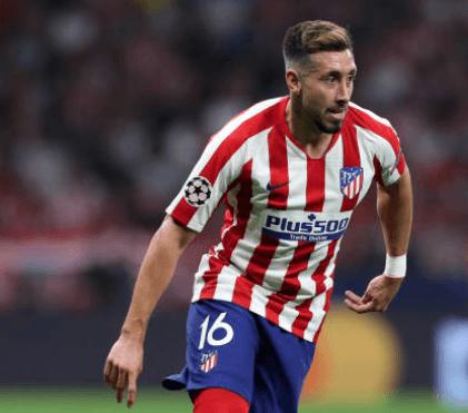 Héctor Herrera se estrena con gol en su debut con el Atlético en Champions