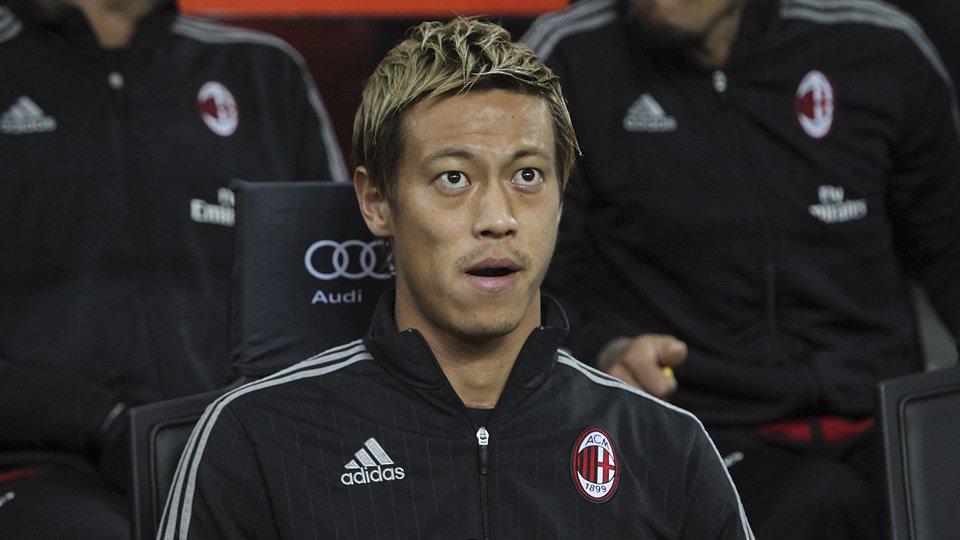 Keisuke Honda se ofrece al Manchester United y AC Milan sin cobrar