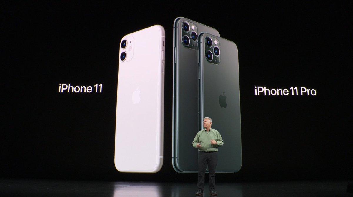 Apple presentó el nuevo iPhone 11