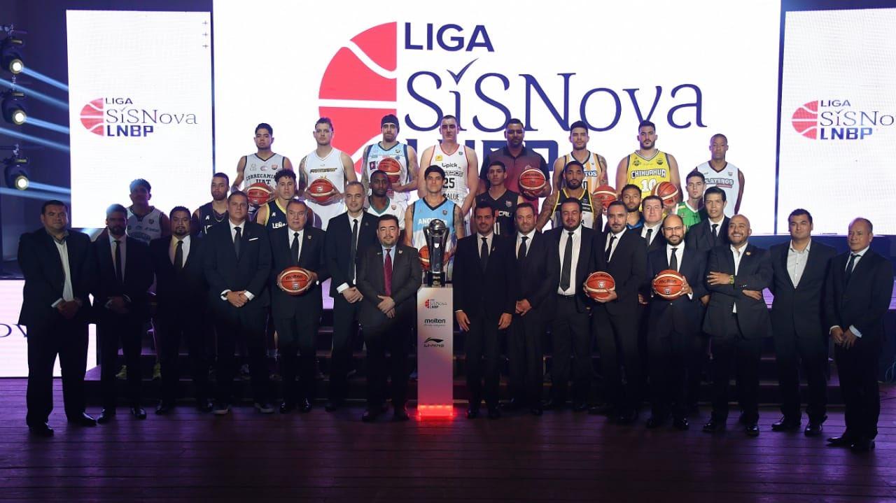 Presentan nueva temporada de la LNBP con 17 equipos