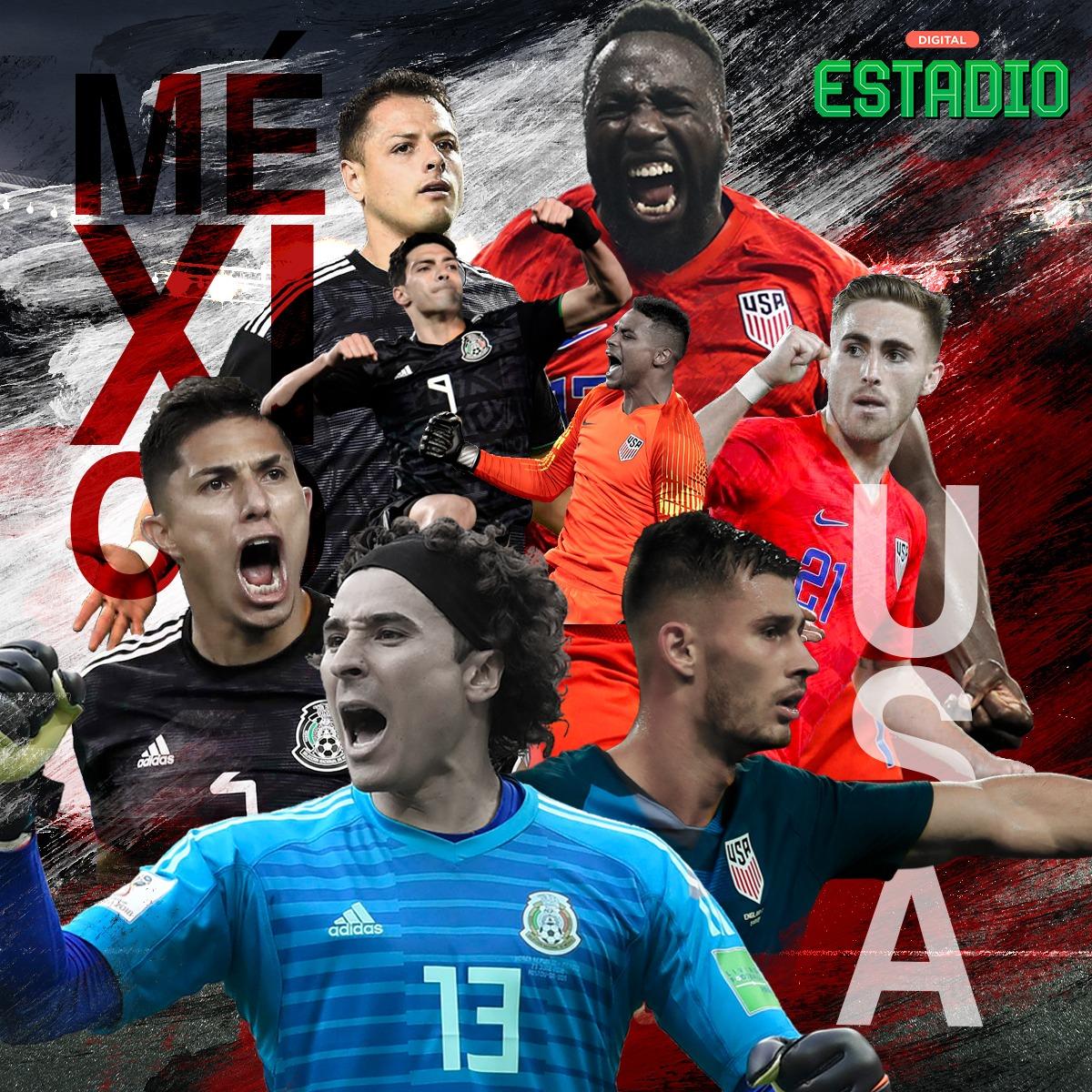 México vs Estados Unidos: horario y dónde ver el Clásico de la Concacaf