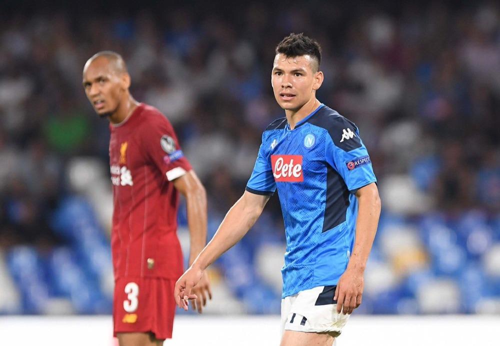 Napoli con Chucky en la cancha, derrota al campeón Liverpool en Champions