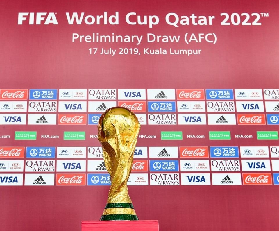 FIFA presentó el logo oficial para el Mundial de Qatar 2022