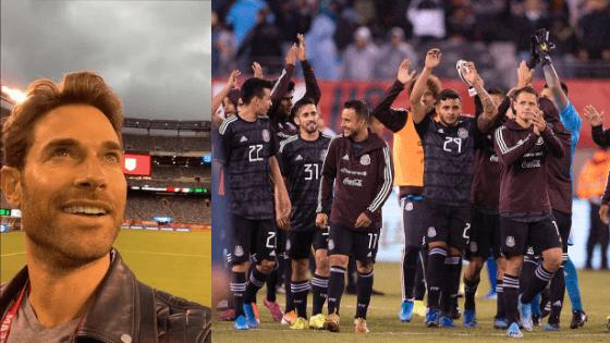 Aficionados tunden en redes a Sebastián Rulli por comentario durante partido de la Selección Mexicana