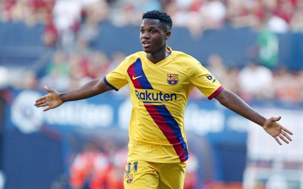 Ansu Fati jugará para la selección española el mundial sub-17