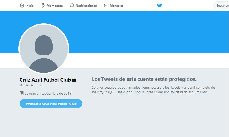 Twitter de Cruz Azul espanta a los aficionados repentino cambio